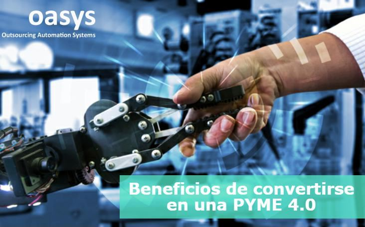 Beneficios de convertirse en una PYME 4.0