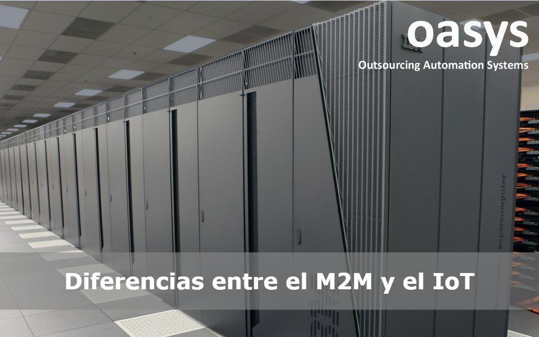 Diferencias entre el M2M y el IoT