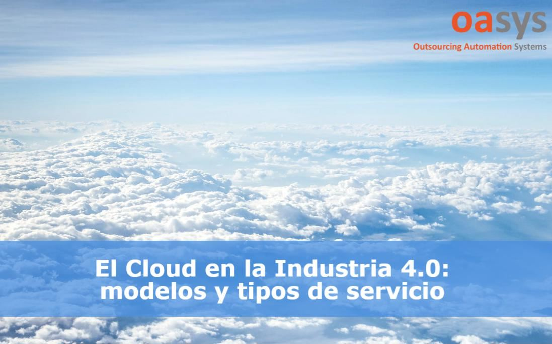 Cloud Computing en la Industria 4.0