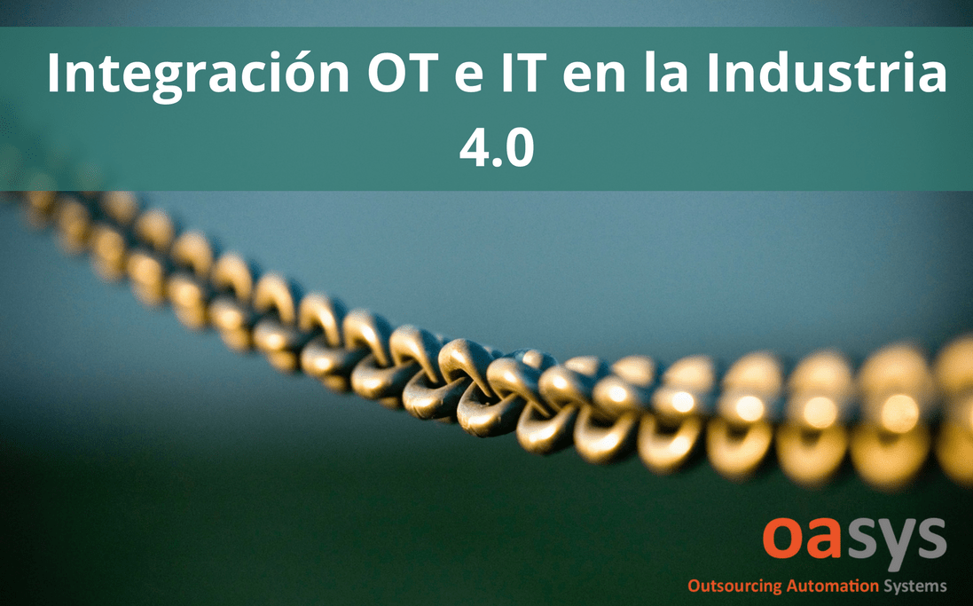 integracion IT OT en la Industria 4.0