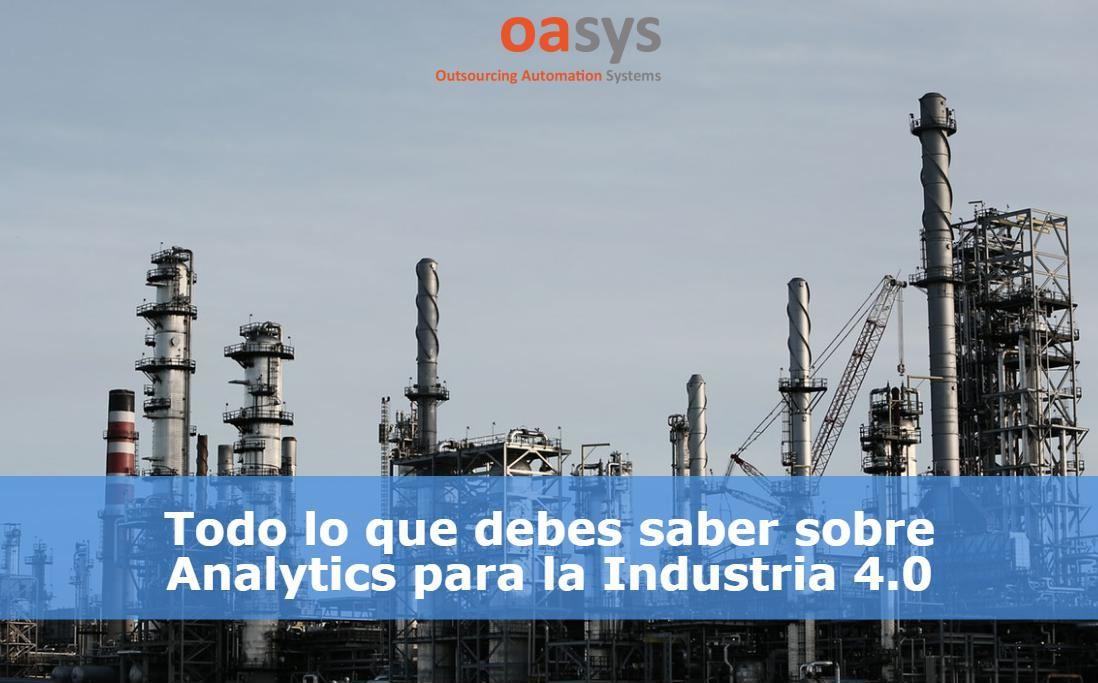 Analytics industrial: todo lo que tienes que saber