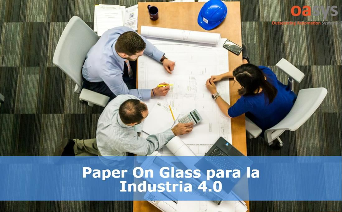 Paper On Glass para Industria