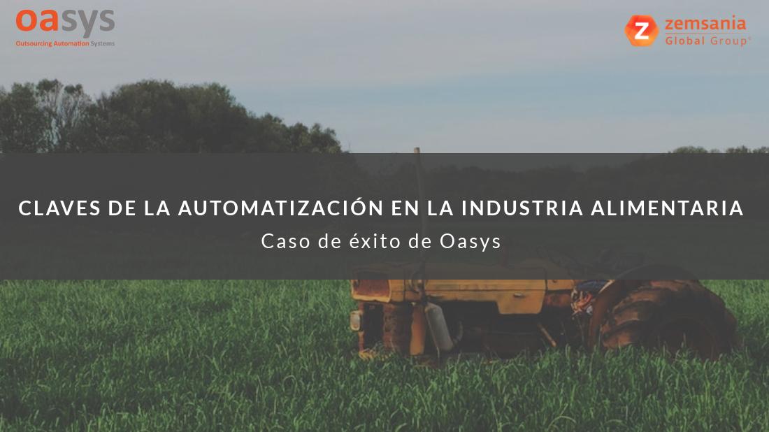 Claves de la automatización en la industria alimentaria