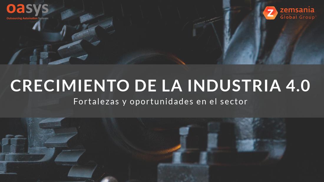 Crecimiento de la Industria 4.0