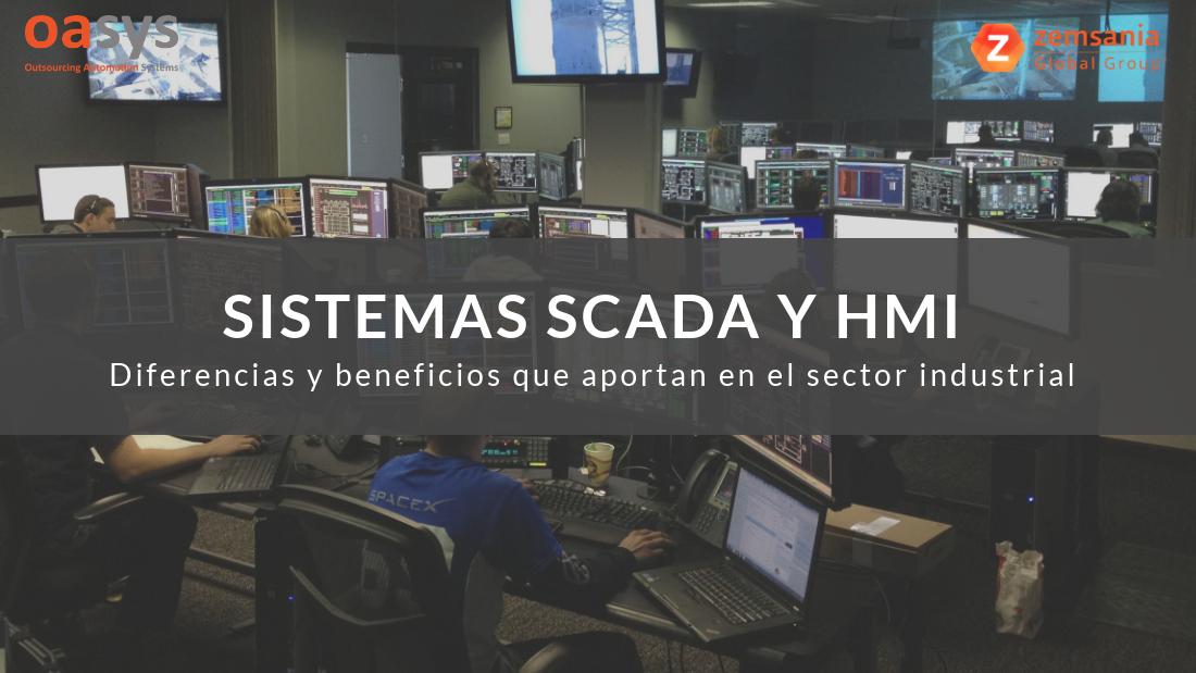 Sistemas SCADA y HMI para la industria